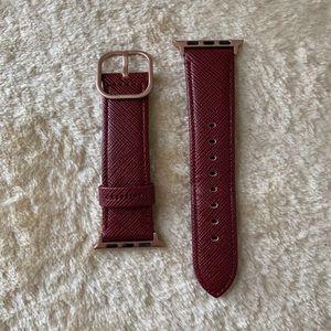 Casetify Burgundy Apple Watch Band - 38mm/40mm